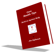 This is a smaller book cover photo of the e-book entitled Core Health Tips.