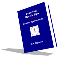 This is a smaller book cover photo of the e-book entitled Essential Health Tips.