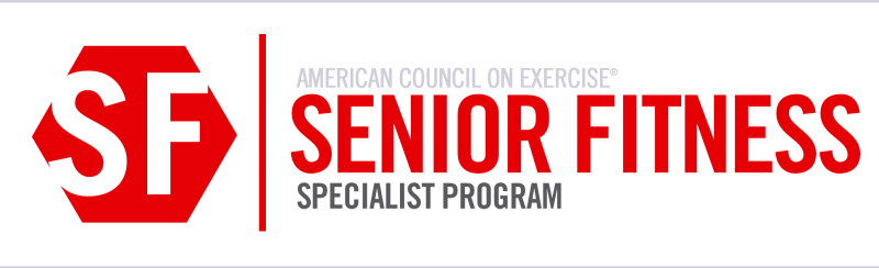 Senior Fitness Specialist Program logo.