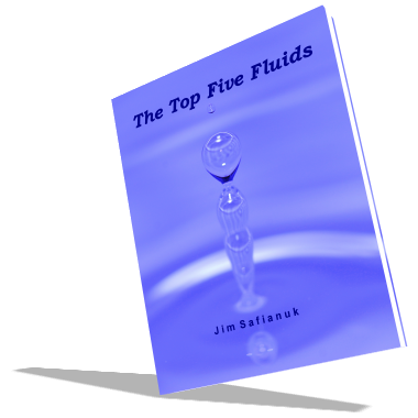 E-book cover photo for the top five fluids.