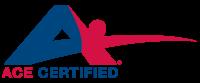 Amercian Council on Exercise logo.